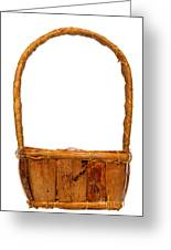 Wicker Basket Number Two Greeting Card