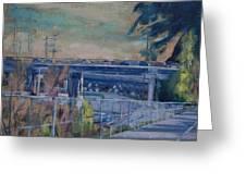 110 Freeway South II Greeting Card