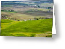 110517-112 The Palouse Greeting Card