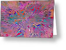 1106 Abstract Thought Greeting Card
