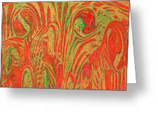 1133 Abstract Thought Greeting Card