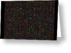11400 Digits Of Pi Greeting Card