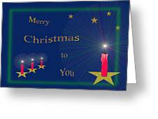 117 - Christmas Card Greeting Card