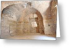 Gladiator Prison Greeting Card