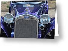 Classic Car. Greeting Card