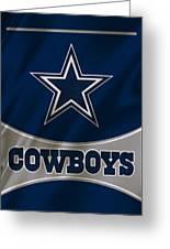 Dallas Cowboys Uniform Greeting Card