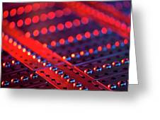 Genome Sequencing Machine Greeting Card