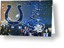 Indianapolis Colts Greeting Card