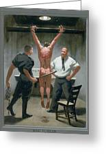 12. Jesus Is Beaten / From The Passion Of Christ - A Gay Vision Greeting Card