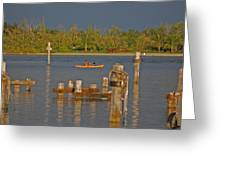12- Kayak Greeting Card