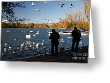 London Scenes Greeting Card by ELITE IMAGE photography By Chad McDermott