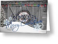 Milwaukee Brewers Greeting Card