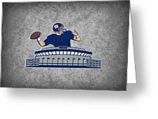 New York Giants Greeting Card