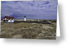 Race Point Light 9 Greeting Card