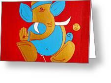 12 Shubham - Auspicious Ganesha Greeting Card