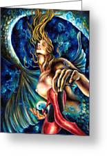 12 Signs Series Pisces Greeting Card