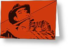 The Jazz Flutist Greeting Card