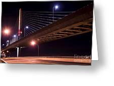 Veterans Glass City Skyway Bridge Greeting Card