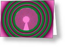 A La Mode Greeting Card