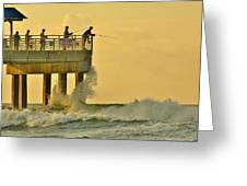 12002 Four Seasons Pier Greeting Card