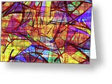1261 Abstract Thought Greeting Card