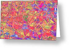 1262 Abstract Thought Greeting Card