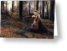 13 Autumns And A Widow Greeting Card
