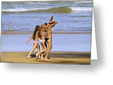 Beach People Greeting Card