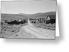 California Bodie, 1962 Greeting Card