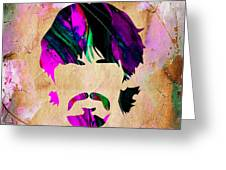 George Harrison Collection Greeting Card