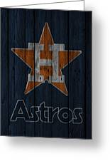 Houston Astros Greeting Card