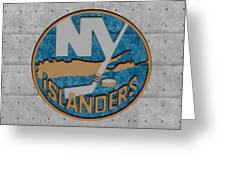 New York Islanders Greeting Card