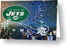 New York Jets Greeting Card