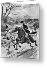 Paul Reveres Ride Greeting Card