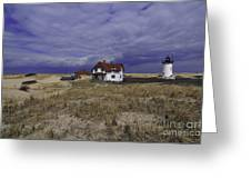 Race Point Light 8 Greeting Card