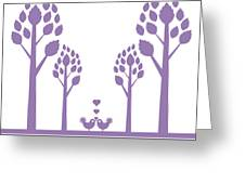Valentine Tree Greeting Card