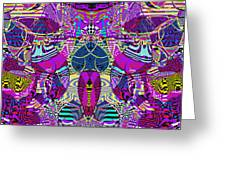 1310 Abstract Thought Greeting Card