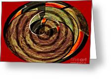 1396 Abstract Thought Greeting Card