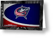 Columbus Blue Jackets Greeting Card