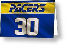 Indiana Pacers Uniform Greeting Card