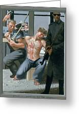 14. Jesus Is Nailed To The Cross / From The Passion Of Christ - A Gay Vision Greeting Card