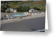 Rye Beach, New Hampshire Nh Greeting Card
