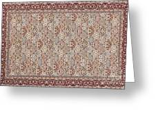 Turkish Carpet Greeting Card