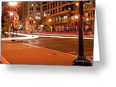 1400 New York Downtown Dc Greeting Card