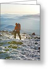A Summit Intern Hikes The Northwest Greeting Card
