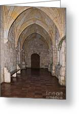 Ancient Spanish Monastery Greeting Card
