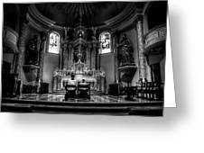 Church Of Saint Agnes Greeting Card