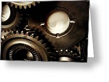 Cogs Greeting Card