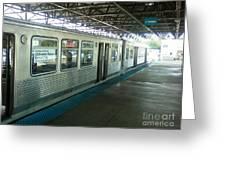 Cta's Retired 2200-series Railcar Greeting Card