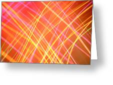 Energy Lines Greeting Card
